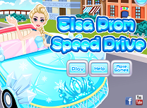 Elsa Conduce Spre Bal