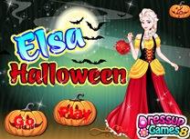 Elsa Costum de Halloween