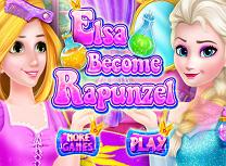 Elsa Devine Rapunzel