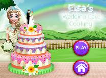 Elsa Gateste Tort de Nunta