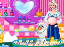 Elsa Ii Face Baie lui Olaf