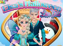 Elsa Intalnire de Halloween