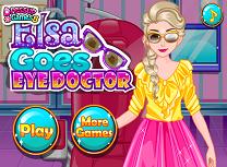 Elsa Merge la Oftalmolog