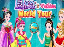 Elsa Moda in Jurul Lumii