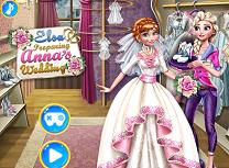 Elsa O Pregateste pe Anna de Nunta