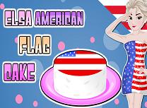 Elsa Prajitura cu Steagul American
