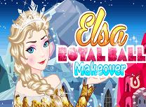 Elsa Pregatiri Pentru Balul Regal