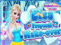 Elsa Pregatiri Pentru Cererea in Casatorie