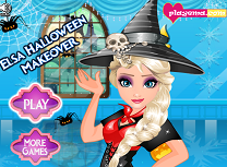 Elsa Pregatiri de Halloween