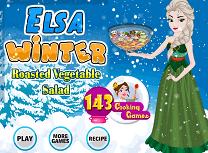 Elsa Prepara Salata de Legume