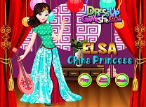 Elsa Printesa in China