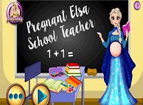 Elsa Profesoara Gravida