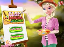 Elsa Profesoara de Desen