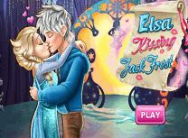 Elsa Saruturi cu Jack Frost