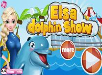 Elsa Show cu Delfini