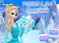 Elsa Si Cristalele