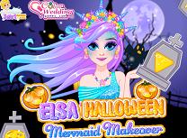 Elsa Sirena de Halloween