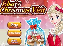 Elsa Vizita de Craciun