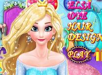 Elsa Vopsirea Parului