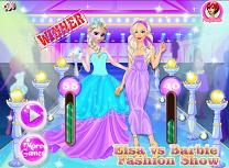 Elsa Vs Barbie Concurs de Moda