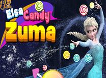 Elsa Zuma cu Bomboane