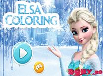Elsa de Colorat