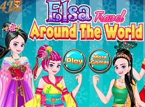 Elsa in Jurul Lumii