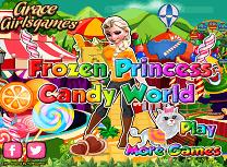 Elsa in Lumea Dulciurilor