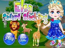 Elsa in Safari