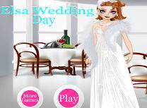 Elsa in Ziua Nuntii