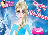 Elsa isi Pune Piercing