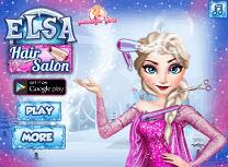 Elsa la Salonul de Par