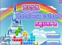 Elsa pe Insula Curcubeu
