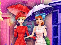 Elsa si Anna Cumparaturi in Paris