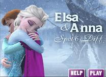 Elsa si Anna Diferente