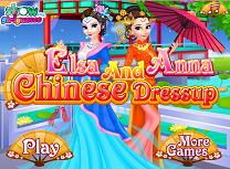 Elsa si Anna Haine Chinezesti