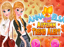 Elsa si Anna Haine de Toamna