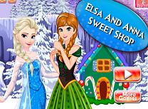 Elsa si Anna Magazin de Dulciuri