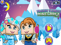 Elsa si Anna Minecraft