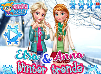 Elsa si Anna Tinute de Iarna