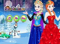 Elsa si Anna de Imbracat