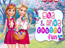 Elsa si Anna de Paste