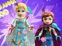 Elsa si Anna in Lumea Lego