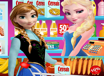 Elsa si Anna la Magazin