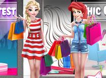 Elsa si Ariel la Mall