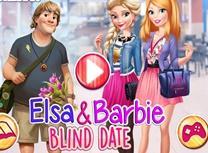 Elsa si Barbie Intalnire Oarba