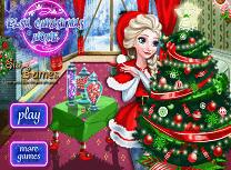 Elsa si Casa de Craciun