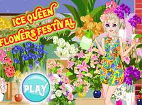 Elsa si Festivalul Florilor