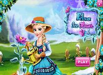 Elsa si Floarea de Gheata