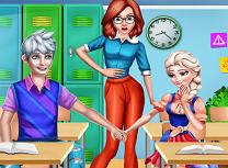 Elsa si Jack Indragostiti la Liceu